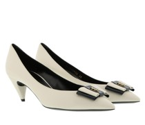 Pumps Anais 55 Decollete Leather Pearl/Navy