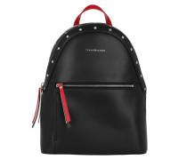 Backpack Icon Black/ Checkerboard Rucksack