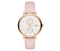 Monterey Watch Rosegold/Nude Armbanduhr