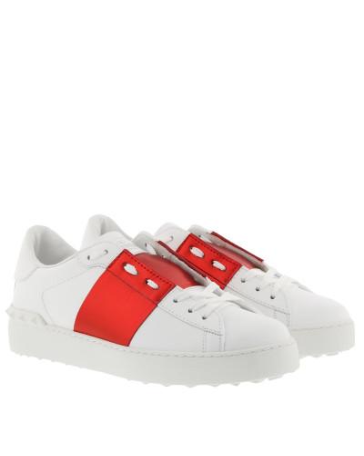 Sneakers Bicolor Rockstud Sneaker White Red