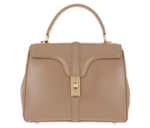 Satchel Bag 16 Small Satinated Calfskin Beige