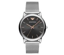 Uhr Watch Dress AR11272 Silver