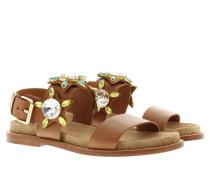 Sandalen - Malibu Sandal Camel/Crepe
