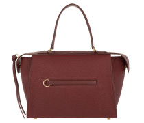 Ring Tote Bag Small Dark Ruby rot