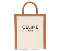 Tote Mini Cabas Vertical Bag Natural Tan