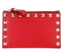 Portemonnaie Rockstud Wallet Leather Red
