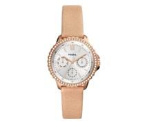Uhr Izzy Multifunction Blush Leather Watch