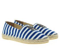 Espadrilles - Beach Espadrilles Stripes Blue/White