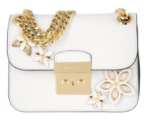 Flowers SM Chain Shoulder Bag Optic White