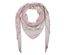 Schal - Print Scarf Rose/Grey