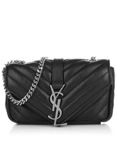 saint laurent damen saint laurent tasche mini baby chain poncho lux bag black in schwarz. Black Bedroom Furniture Sets. Home Design Ideas