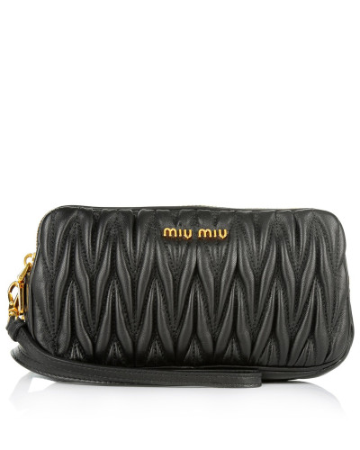 miu miu damen miu miu tasche double zip crossbody bag black in schwarz umh ngetasche f r. Black Bedroom Furniture Sets. Home Design Ideas