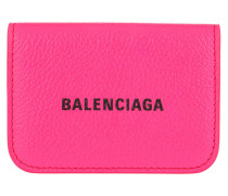 Portemonnaie Cash Mini Wallet Acid Fuchsia/Black