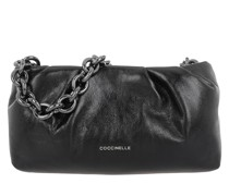 Hobo Bag Borsa Pelle Vitello Lucido Noir