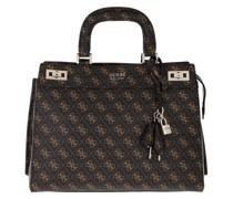 Tote Katey Luxury Satchel Bag Brown Multi