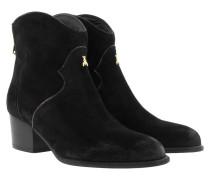 Boots & Booties - Cowboy Booties Nero