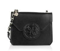 Guess Tasche - Amy Crossbody Flap Bag Black - in schwarz - Umhängetasche für Damen
