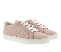 Coralie Leather Sneaker Nude
