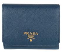 Small Wallet Saffiano Bluette Portemonnaie
