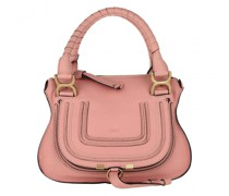 Tote Marcie Crossbody Bag Grained Calfskin Fallow Pink