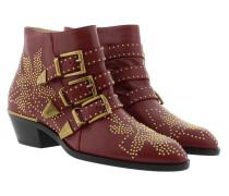 Susanna Nappa Boots Cherry Syrup Schuhe