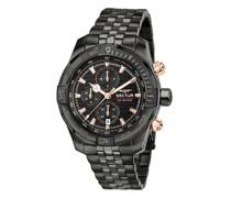 Uhren 45MmIp Black Case Chrono Mvt Dial Bracelet