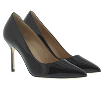 Pumps - BB Patent Leather High Heel Black