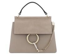 Satchel Bag Faye Shoulder Leather Motty Grey