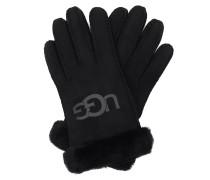 Handschuhe W Sheepskin Logo Glove Black