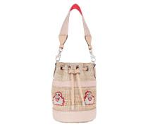 Umhängetasche Mary Jane Bucket Bag Leather Natural/Rose