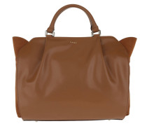 Medium Satchel Camel