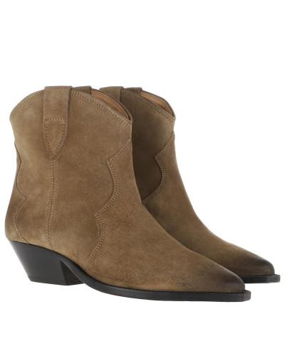 Boots Dewina Boots Taupe grün