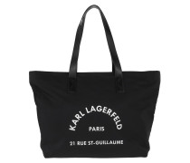 Shopper Rue St Guillaume Nylon Tote Bag Black