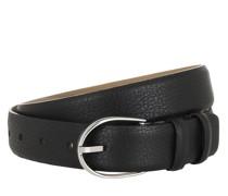 Gürtel Belt Black Nickel