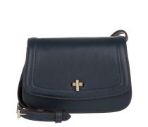 Tasche - Cowhide Mini Crossbody Bag Navy Blue