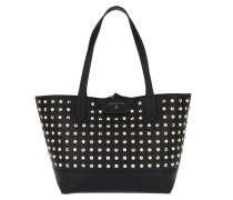 Patterned Shopping Bag Rock Black/Pearl