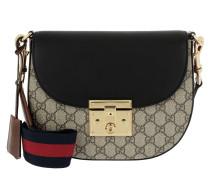 Padlock Umhängetasche Bag GG Supreme Ebony