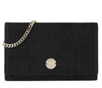 Florence Mini Shoulder Bag Black Clutch
