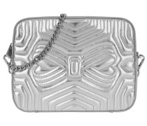 Sunshine Quilted Camera Bag Silver