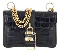 Umhängetasche Aby Shoulder Bag Leather Full Blue