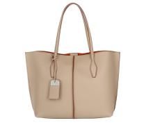 Joy Shopping Bag Media Beige Tote orange