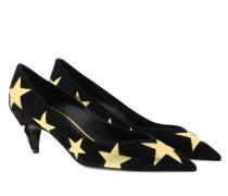 Pumps Kiki Star Leather Black/Gold