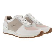 Allie Wrap Trainer Metallic Cement/Soft Pink Sneakerss rosa