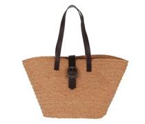 Shopper Panier Medium Tote Bag Raffia