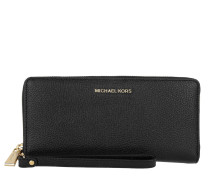 Travel Continental Wallet Black