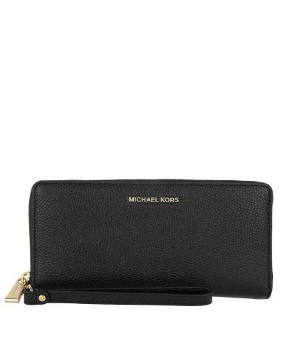 Portemonnaie Travel Continental Wallet Black schwarz