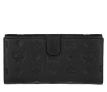 Klara Mini Fold Large Wallet Black Portemonnaie