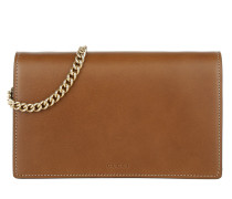 Linea A GG Supreme Shoulder Bag Brown Pochette braun