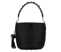 Glam Bucket Bag Nero Beuteltasche