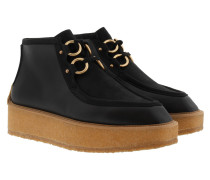 Clipper Ankle Boots Black Schuhe